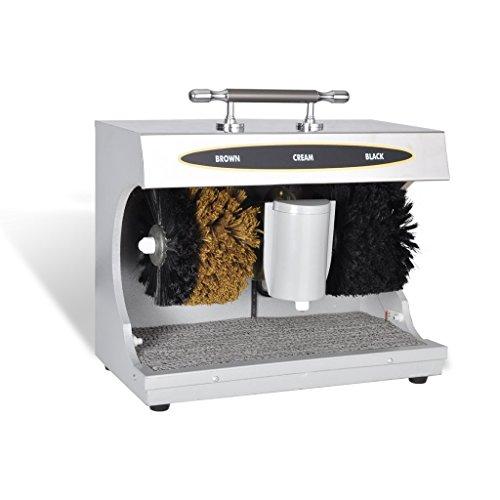 vidaXL Schuh Poliermaschine mit Schuhcreme