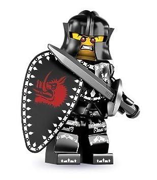 Lego Sammelfiguren Serie 7 Schwarzer Ritter 8831