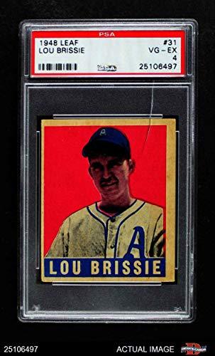 Amazoncom 1948 Leaf 31 Lou Brissie Philadelphia