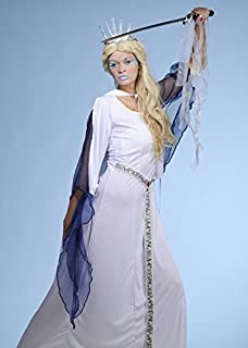 Womens The White Witch Snow Queen Costume Large UK 16 18