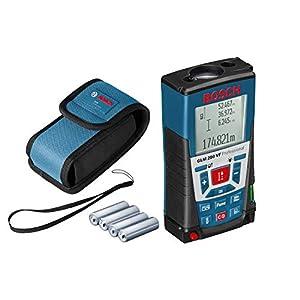 Bosch Professional Medidor láser de distancia GLM 250 VF (para exteriores, máx. distancia: 250 m, correa de transporte, 4 pilas de 1,5 V, funda)
