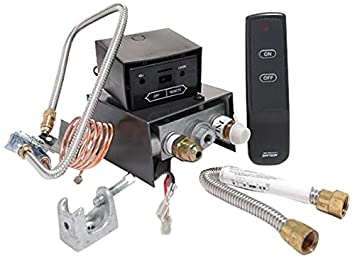 Amazon.com: Skytech AF-LMF/R Remote Controlled Fireplace Gas Valve ...