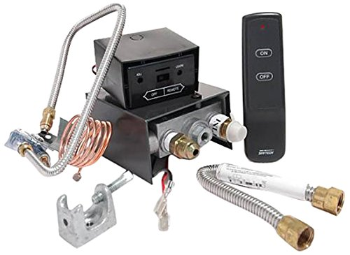 Skytech AF-LMF/R Remote Controlled Fireplace Gas Valve Control Kit by SkyTech