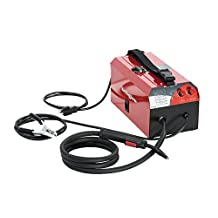 Premium Flux Core Gasless MIG welder KickingHorse™ F130. 110V 120V input, 130 Amp output. IGBT Inverter with Step-less Heat Control. Run 035 wire and weld 1/4 inch steel in single run. Increased power in ultra-portable package. Canada Stock. ★ 1 (One) Year Manufacture Free Replacement Warranty in Canada ★