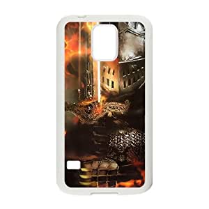 Dark Souls Samsung Galaxy S5 Cell Phone Case White yyfD-335806