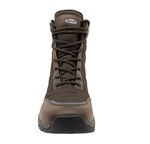 Man thinsulate lock 3220 KEFAS lining WARM K Snow Boot Brown Winter Ice outsole TqqO4dpw