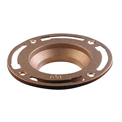 Danco 40639 Brass Toilet Floor Flange, 24 oz