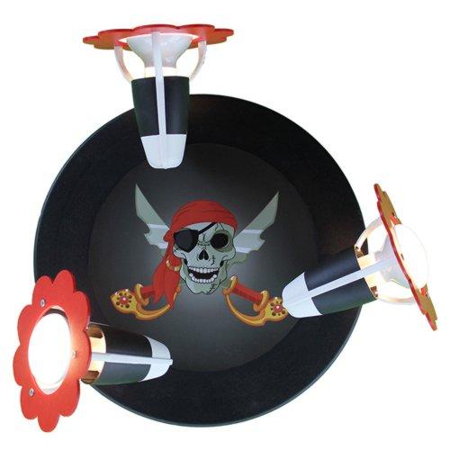 Elobra Strahler Rondell Piratenkopf, 3 flammig ELO-127131