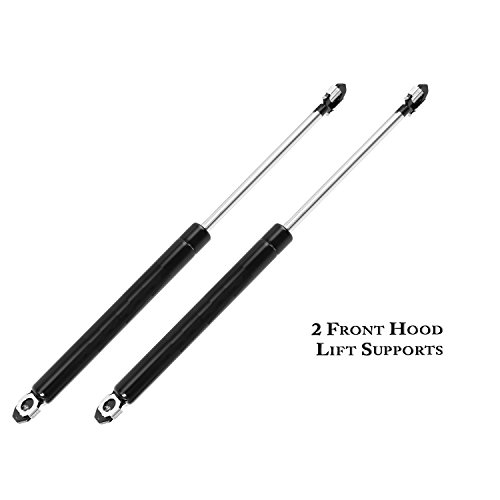 2 Pcs Front Hood Lift Supports Shocks Struts Gas Charged For 1982-1992 Chevrolet Camaro Pontiac Firebird