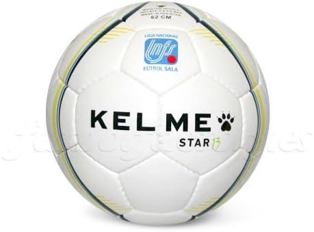 KELME - Balón star 13 - balón oficial lnfs -, talla 62cm, color ...