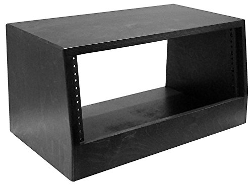 AudioRax | 4 Space (4U) | Baltic Birch 13-Ply Desktop Turret Studio Equipment Rack ()