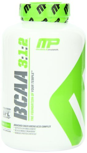 Muscle Pharm BCAA 3:1:2 Capsules, 240 Count (Pack of 3 (240 caps ea))