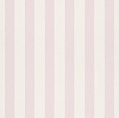 246018 - Bambino Striped Pink Galerie Wallpaper ()
