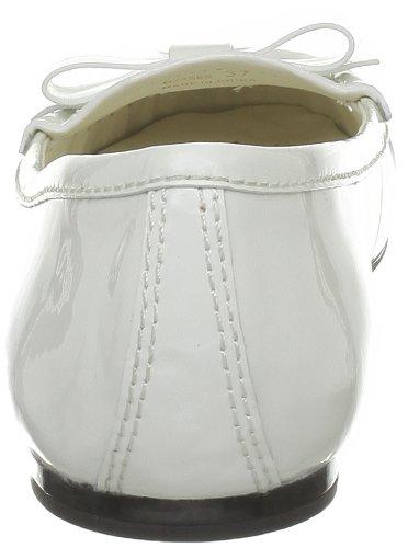 Geox D Primula S, Mocassins femmes Blanc (C1000)