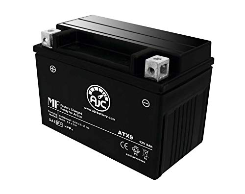 Kawasaki KFX 400 ATV Replacement Battery (2003-2006) This is an AJC Brand Replacement