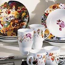 Disney Store Alice in Wonderland Porcelain Dinnerware Set  sc 1 st  m.amazon.com & Amazon.com : Disney Store Alice in Wonderland Porcelain Dinnerware ...