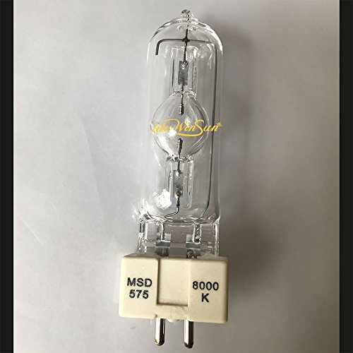 LiteWinSune 6pcs/lot MSD575/2 NSD575 G22/GX9.5 Computer Moving Head Light Lamp Soure MSD 575W Auto Show Lamp Spotlight Bulb HSD 575/60