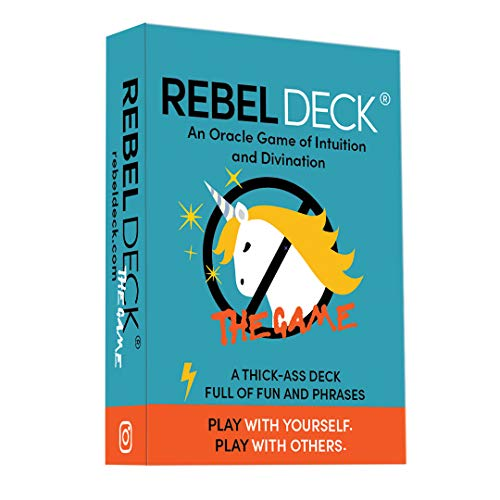 REBEL DECK- The Game- An Oracle Game of Intuition and Divination (112 cards) (Rebel Matte)