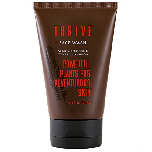 Thrive Natural Face Wash for Men – Daily Facial Cleanser for Men...