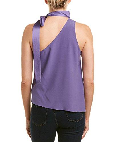 Ramy Brook Womens Jules Silk-Blend Top, S, Purple by Ramy Brook (Image #2)