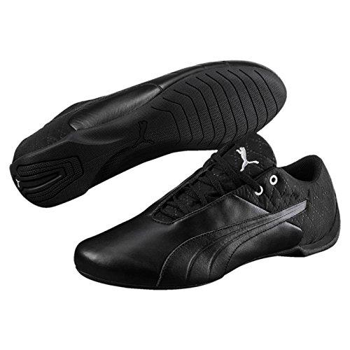 Hombre Zapatillas puma Cat Silver PumaFuture 001 Schwarz Black vwAqT