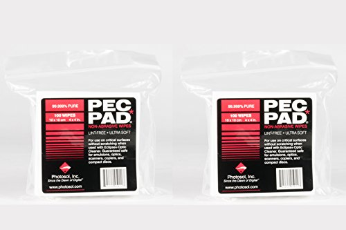 PSI Pec Pads 4''x4'' 100 sheets 2 PACK by Photographic Solutions