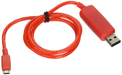 Pilot Electronics EL V2 Micro USB, Red Power Cable (EL-1400R)