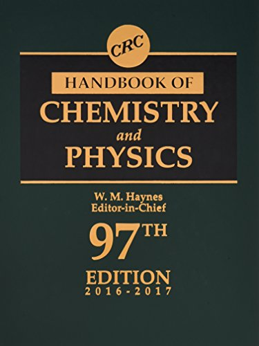 CRC Handbook of Chemistry and Physics, 97th Edition (CRC Handbook of Chemistry & Physics) (Handbook Of Chemistry And Physics The Elements)
