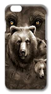 Aurora Wolfpack Custom iphone 6 plus 5.5 inch Case Cover Polycarbonate 3D