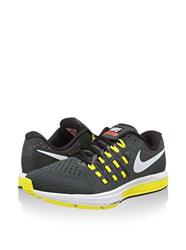 Negro Multicolor Blanco Amarillo Running Air Vomero NIKE Zoom para Zapatillas de 11 Gris Hombre aq7PUR