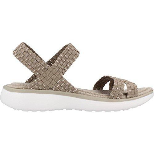 SKECHERS 38596 BEIGE Sandalen Schuhe Beige