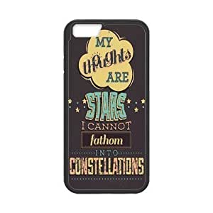 iPhone 6 Protective Case -Quotes from The Fault in Our Stars Hardshell Cell Phone Cover Case for New iPhone 6
