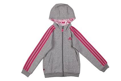 adidas Sudadera Suéter con Chaquetas para Niños Niño Niña N9294 Parte Superior Top de Deporte Chaquetas