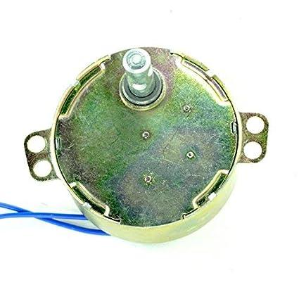 Auto Swing Metal Motor Synchronous Motor Ac 220V-240V 4W Watts (Golden)