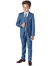 Sampson Slim Fit Suit, Boys Occasion Wear, Kids Wedding Suit, X-Large – 20