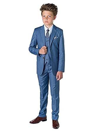 Paisley of London, niños traje azul, Chambray Suit, Página Chico ...