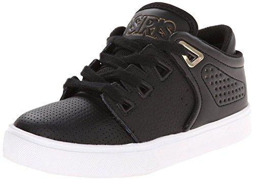 Osiris D3V Negro Oro Blanco Hombres Skate Formadores Zapatos Botas