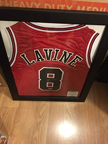 95a727ba6 Zach Lavine Autographed Signed Chicago Bulls Jersey COA Beckett Authentic  With Frame. Zach LaVine Chicago Bulls Authentic Jerseys