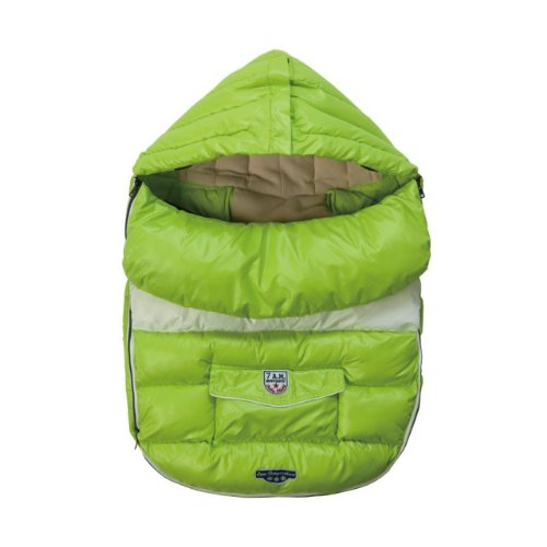 7A.M. ENFANT Baby Shield stroller foot muff Neon 18-36M by Unknown