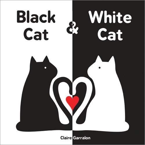 Image of Black Cat & White Cat