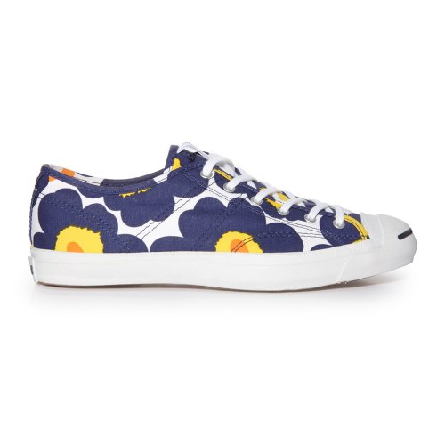 the best attitude 87315 389c5 Amazon.com   Converse X Marimekko Jack Purcell Helen, Navy Yellow White Uk  Size  8   Fashion Sneakers