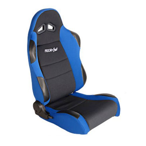 ProCar by Scat 80-1606-65R Sportsman Blue Velour Right Racing Seat