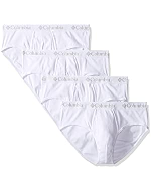 Columbia Men's 4-Pack Cotton Brief