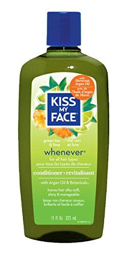 Kiss My Face Whenever Conditioner, Green Tea & Lime 11 oz