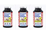 Yerba Prima Psyllium Husks Powder, 12 OZ 3 pk Review