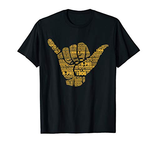 Alpha Phi Alpha Fraternity Hand Sign T-Shirt