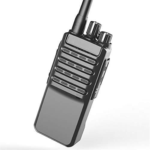 HDJ Walkie Talkies,High Power 50 Km Waterproof Handheld Engineering Property Walkie (Black, 1 Pair) by HDJ (Image #7)