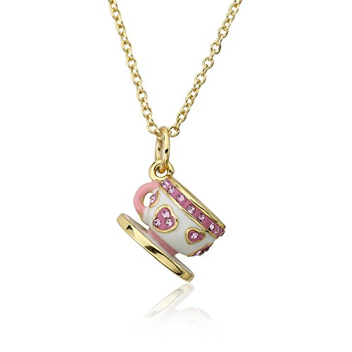 molly-glitz-tea-for-two-14k-gold-plated-pink-hearts-on-white-crystal-tea-cup-pendant-necklace