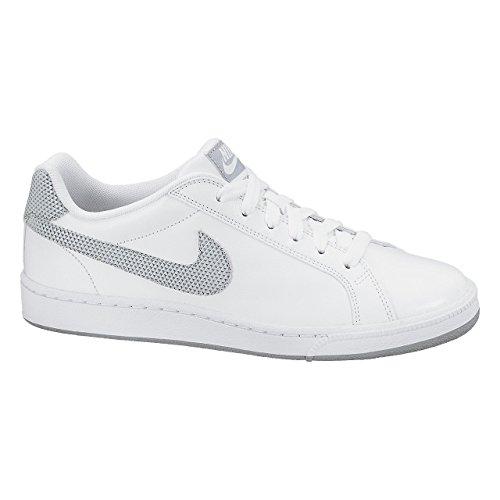 Nike Schuhe Kinder Jungen Damen Nike court majestic White/metallic silver-white