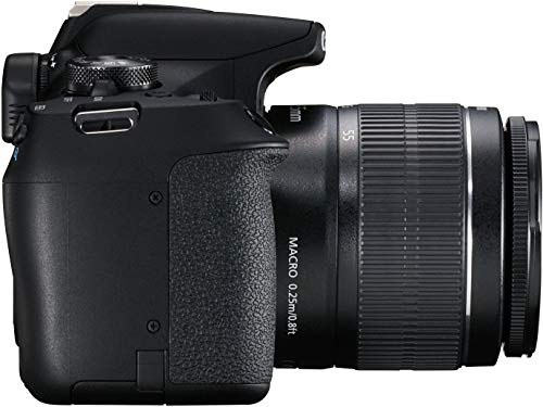 Canon EOS 1500D 24.1 Digital SLR Camera (Black) with EF S18-55 is II Lens, 16GB Card and Carry Case 5